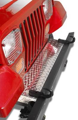 Wrangler - Front Bumper - Warrior - Jeep Wrangler Warrior Front Frame Cover