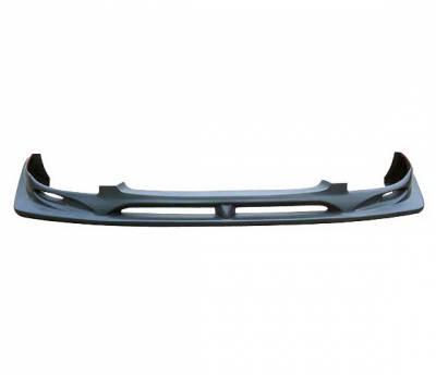 WRX - Front Bumper - 4 Car Option - Subaru WRX 4 Car Option Polyurethane C-West Style Front Bumper Lip - BLFP-SI04CW-PU