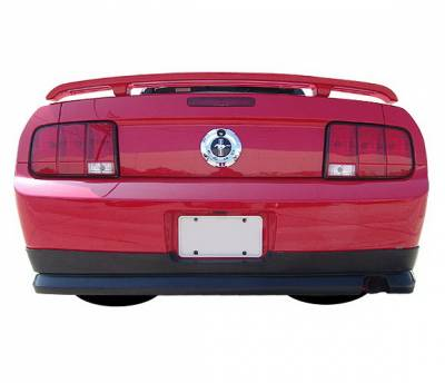 Body Kits - Rear Lip - 4 Car Option - Ford Mustang 4 Car Option Polyurethane Rear Bumper Lip - BLR-FM05V6-PU