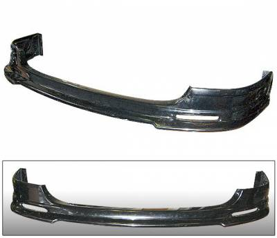 Civic 2Dr - Rear Add On - 4CarOption - Honda Civic 4CarOption Rear Bumper Lip - BLR-HC03SI