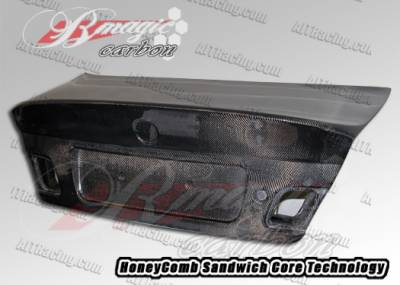 3 Series 4Dr - Trunk Hatch - AIT Racing - BMW 3 Series AIT Racing CSL Style Carbon Fiber Trunk - BM301BMCSLCFT
