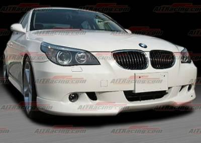 5 Series - Front Bumper - AIT Racing - BMW 5 Series AIT Racing A-Tech Style Front Lip - BM505HIACSFAD