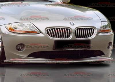 Z4 - Front Bumper - AIT Racing - BMW Z4 AIT Racing H-Tech Style Front Lip - BMWZ4HIHANFAD