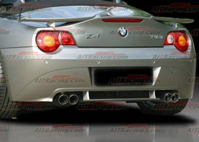 Z4 - Rear Add On - AIT Racing - BMW Z4 AIT Racing H-Tech Style Rear Apron - BMWZ4HIHANRAD