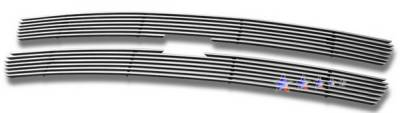 Grilles - Custom Fit Grilles - APS - Chevrolet Suburban APS Billet Grille - Upper - Stainless Steel - C65701S