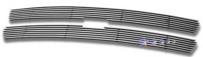 Grilles - Custom Fit Grilles - APS - Chevrolet Tahoe APS Billet Grille - Upper - Stainless Steel - C65701S