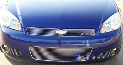 Grilles - Custom Fit Grilles - APS - Chevrolet Impala APS Billet Grille - Bumper - Aluminum - C65744A