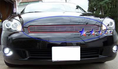 Grilles - Custom Fit Grilles - APS - Chevrolet Monte Carlo APS Billet Grille - Upper - Aluminum - C65765A
