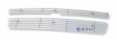 Grilles - Custom Fit Grilles - APS - Chevrolet Avalanche APS Phat Grille - C66451T