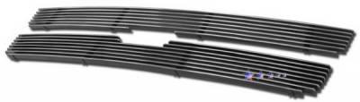 Grilles - Custom Fit Grilles - APS - Chevrolet Trail Blazer APS Billet Grille - Upper - Aluminum - C66465A