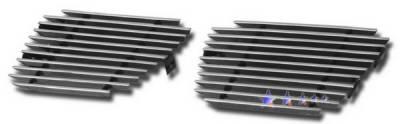Grilles - Custom Fit Grilles - APS - Chevrolet Suburban APS Billet Grille - Tow Hook Area - Aluminum - C66467A