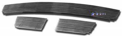 Grilles - Custom Fit Grilles - APS - Chevrolet Trail Blazer APS Billet Grille - Bumper - Aluminum - C66469A