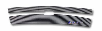 Grilles - Custom Fit Grilles - APS - Chevrolet Tahoe APS Billet Grille - Upper - Aluminum - C66671A
