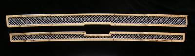 Grilles - Custom Fit Grilles - APS - Chevrolet Trail Blazer APS Wire Mesh Grille - C75307T