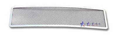 Grilles - Custom Fit Grilles - APS - Hummer H2 APS Wire Mesh Grille - Upper - Stainless Steel - C76579T