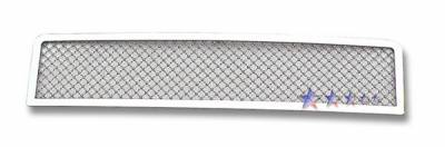 Grilles - Custom Fit Grilles - APS - Hummer H2 APS Wire Mesh Grille - Bumper - Stainless Steel - C76580T