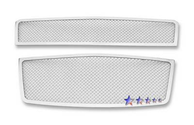 Grilles - Custom Fit Grilles - APS - Chevrolet Aveo APS Wire Mesh Grille - C76674T