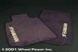 Car Interior - Floor Mats - Custom - Hamann Grill Shadow Covers