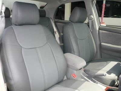 Car Interior - Seat Covers - Clazzio - Toyota Corolla Clazzio Seat Covers