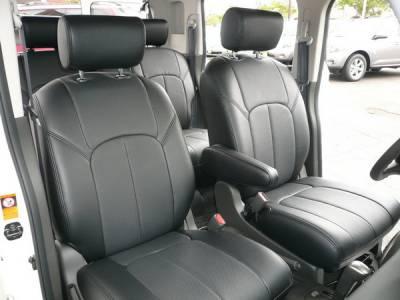 Car Interior - Seat Covers - Clazzio - Nissan Cube Clazzio Seat Covers