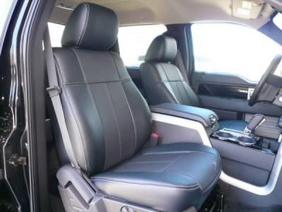 Car Interior - Seat Covers - Clazzio - Ford F150 Clazzio Seat Covers