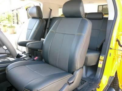 Car Interior - Seat Covers - Clazzio - Toyota FJ Cruiser Clazzio Seat Covers
