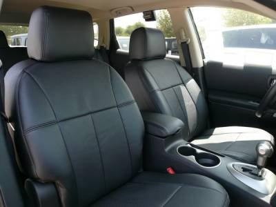 Car Interior - Seat Covers - Clazzio - Nissan Rogue Clazzio Seat Covers