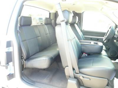 Car Interior - Seat Covers - Clazzio - Chevrolet Silverado Clazzio Seat Covers