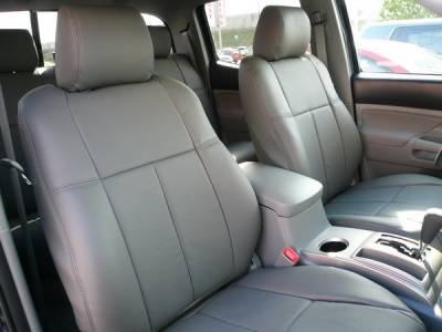 Car Interior - Seat Covers - Clazzio - Toyota Tacoma Clazzio Seat Covers