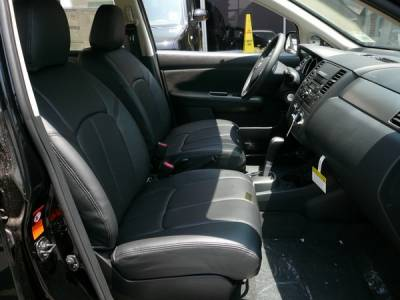 Car Interior - Seat Covers - Clazzio - Nissan Versa Clazzio Seat Covers