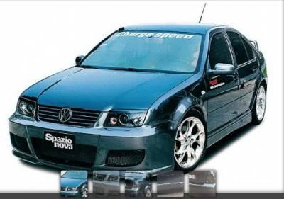 Jetta - Body Kits - Chargespeed - Volkswagen Jetta Chargespeed Spazio Nova Full Body Kit - 4PC - CS2000FK