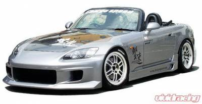 S2000 - Body Kits - Chargespeed - Honda S2000 Chargespeed Full Body Kit - 4PC - CS330FK