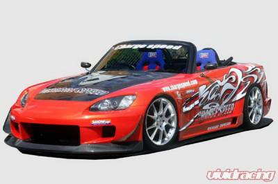 S2000 - Body Kits - Chargespeed - Honda S2000 Chargespeed Wide Body Super GT Full Body Kit - CS330FKW