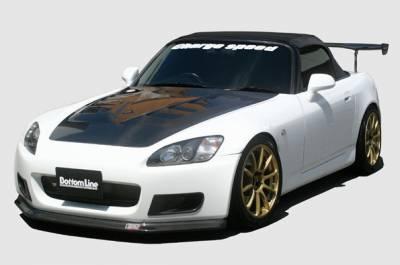S2000 - Body Kits - Chargespeed - Honda S2000 Chargespeed Bottom Line Full Lip Kit 5PC - CS330FLKC