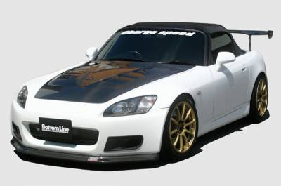 S2000 - Body Kits - Chargespeed - Honda S2000 Chargespeed Bottom Line Full Lip Kit - 5PC - CS330FLKF