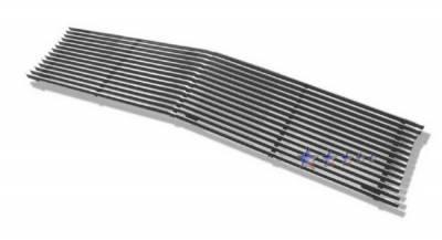 Grilles - Custom Fit Grilles - APS - Chevrolet Suburban APS Billet Grille - Upper - Aluminum - C85003A