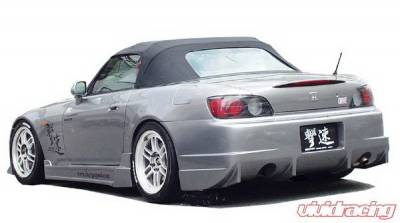 S2000 - Rear Bumper - Chargespeed - Honda S2000 Chargespeed Rear Bumper - CS330RB