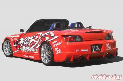 S2000 - Rear Bumper - Chargespeed - Honda S2000 Chargespeed Wide Body Super GT Rear Bumper - CS330RBW