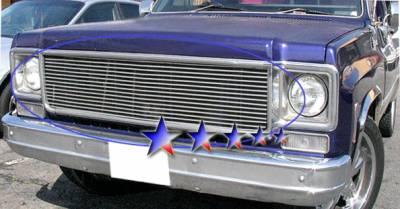 Grilles - Custom Fit Grilles - APS - Chevrolet Blazer APS Billet Grille - Upper - Aluminum - C85008A