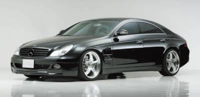 CL Class - Front Bumper - Wald - Mercedes CLS Class W219 Front Bumper Spoiler