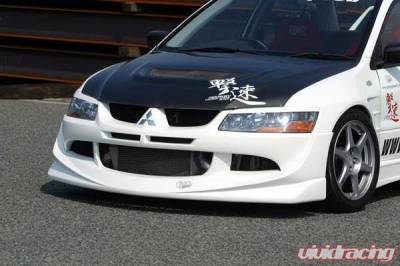 Lancer - Body Kits - Chargespeed - Mitsubishi Lancer Chargespeed Full Lip Kit - 4PC - CS424FLK