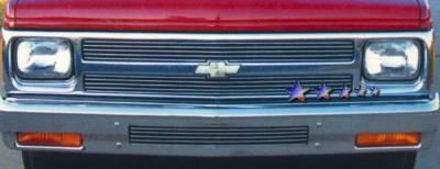 Grilles - Custom Fit Grilles - APS - Chevrolet S10 APS Billet Grille - Upper - Aluminum - C85042A