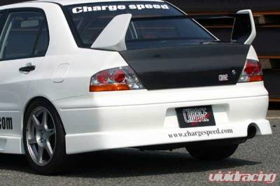 Lancer - Rear Add On - Chargespeed - Mitsubishi Lancer Chargespeed Rear Skirt - CS424RS