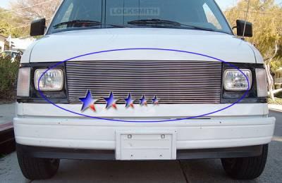 APS - Chevrolet Astro APS Billet Grille - Upper - Aluminum - C85103A