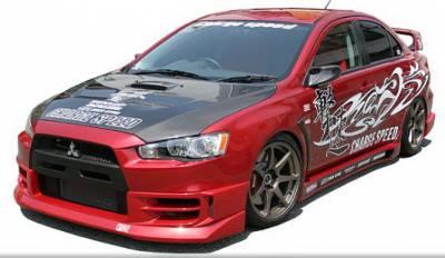 Lancer - Body Kits - Chargespeed - Mitsubishi Lancer Chargespeed Type-1 Full Lip Kit - CS427FLK1