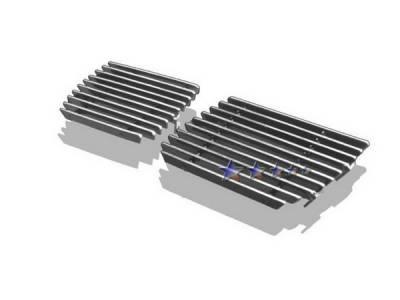 Grilles - Custom Fit Grilles - APS - Chevrolet Silverado APS Billet Grille - Bumper - Aluminum - C85303A