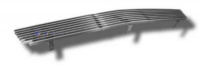 Grilles - Custom Fit Grilles - APS - Chevrolet Silverado APS Billet Grille - Center - Bumper - Aluminum - C85304A