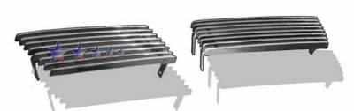 Grilles - Custom Fit Grilles - APS - Chevrolet Silverado APS Billet Grille - Bumper - Aluminum - C85305A