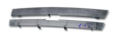 Grilles - Custom Fit Grilles - APS - Chevrolet Trail Blazer APS Billet Grille - Upper - Stainless Steel - C85307S