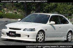 Chargespeed - Honda Civic 2DR & HB Chargespeed Side Skirts - Pair - CS617SS